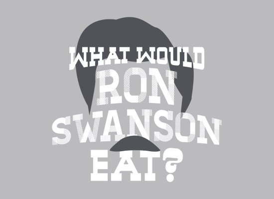 what-would-ron-swanson-eat-t-shirt