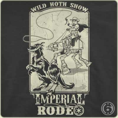 wild hoth show imperial rodeo t shirt Imperial Rodeo Wild Hoth Show T Shirt