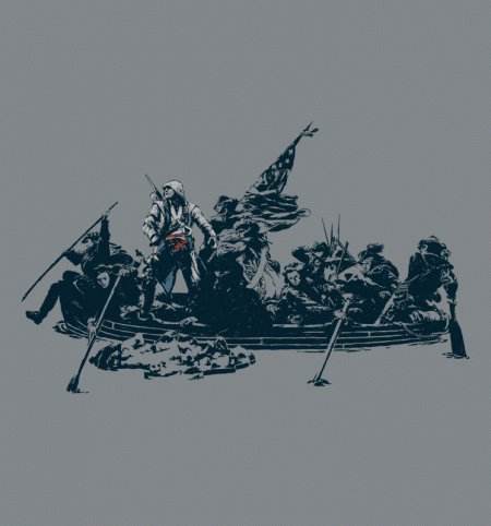 assassins crossing t shirt Assassins Crossing T Shirt