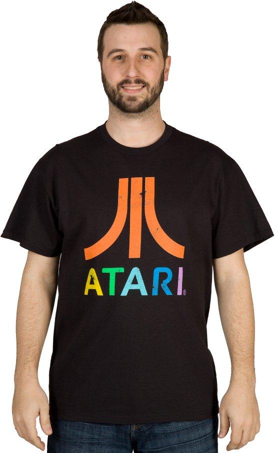 atari t shirt Atari Logo T Shirt