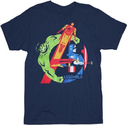 avengers assemble t shirt Avengers Assemble T Shirt