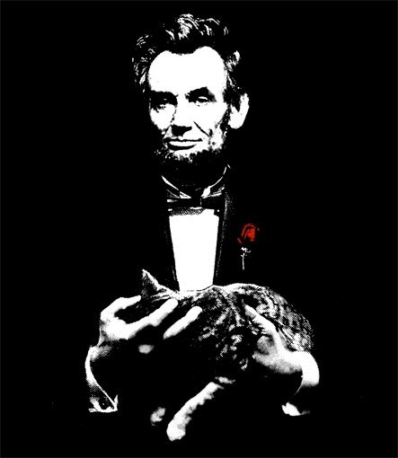 godfather-lincoln-t-shirt