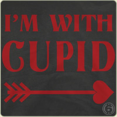 im-with-cupid-t-shirt