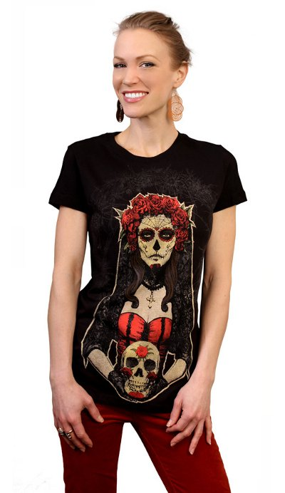 lady-of-the-dead-t-shirt