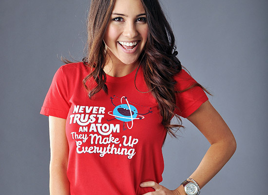 never trust an atom t shirt Never Trust An Atom They Make Up Everything T Shirt