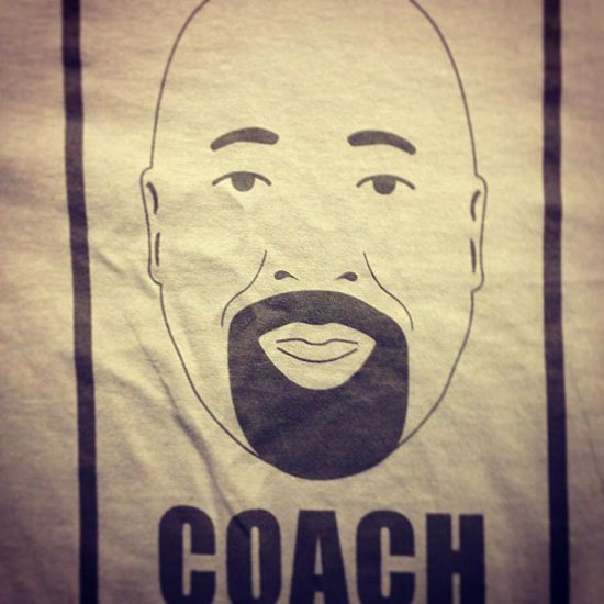 new york knicks coach mike woodson t shirt Coach Mike Woodsons Face T Shirt