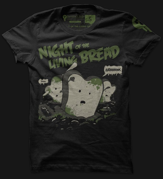 night of the living bread t shirt Night of the Living Bread T Shirt