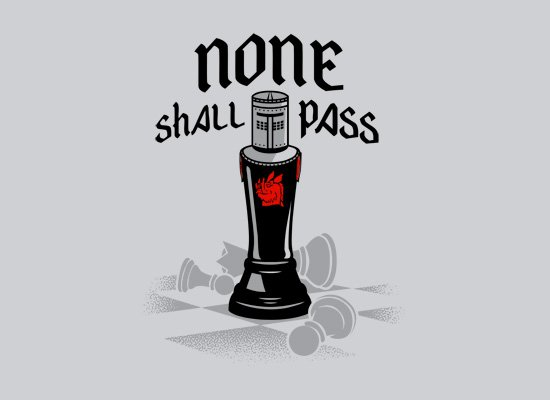 none shall pass t shirt None Shall Pass T Shirt