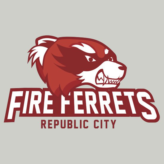 republic city fire ferrets t shirt Fire Ferrets T Shirt