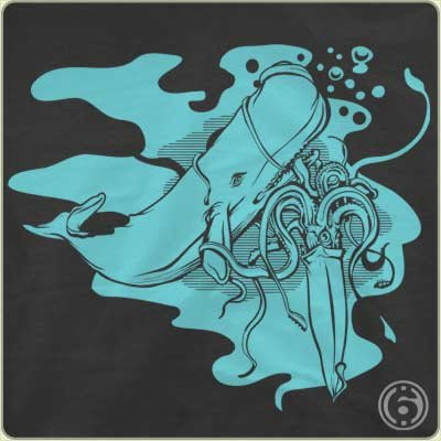 squid whale t shirt The Squid Vs. the Whale T Shirt