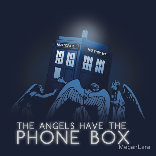 the angels have the phone box t shirt The Angels Have the Phone Box T Shirt