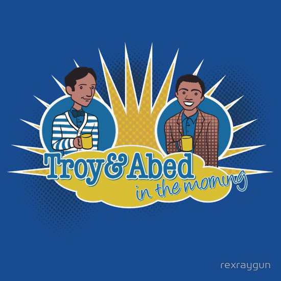 troy-and-abed-in-the-morning-t-shirt