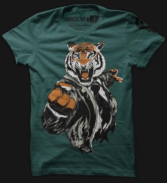 belligerent-bengal-t-shirt