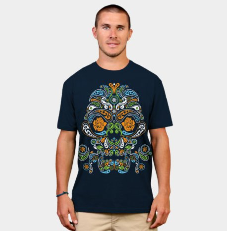 craneo-t-shirt