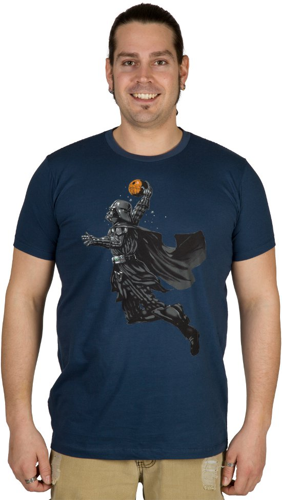 darth vader dunks death star t shirt Darth Vader Death Star Dunk T Shirt