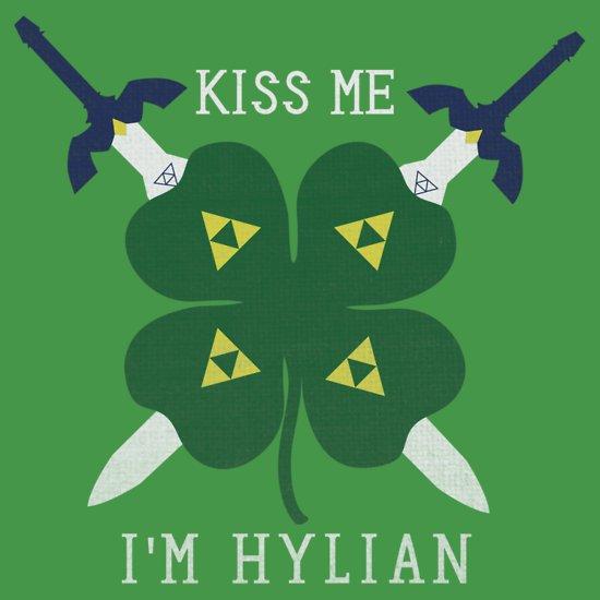 kiss me im hylian t shirt Kiss Me Im Hylian T Shirt