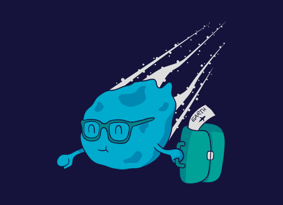 meteor-t-shirt