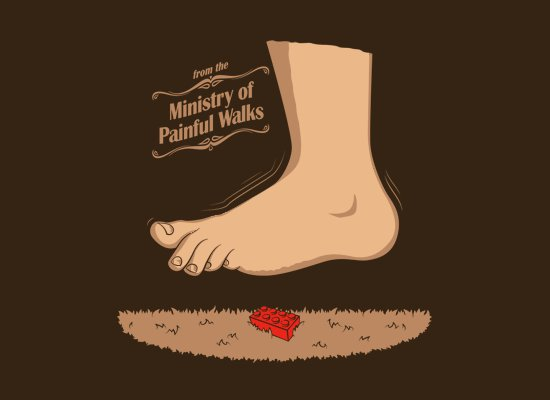 ministry-of-painful-walks-t-shirt