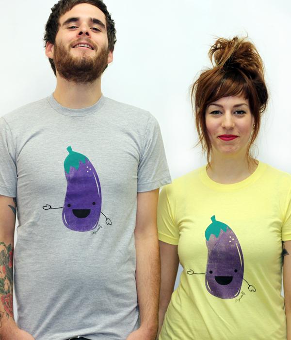 mr eggplant t shirt Mr. Eggplant T Shirt