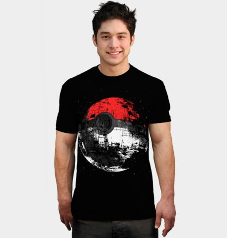 pokemon bomb death star t shirt Pokemon Bomb Death Star T Shirt