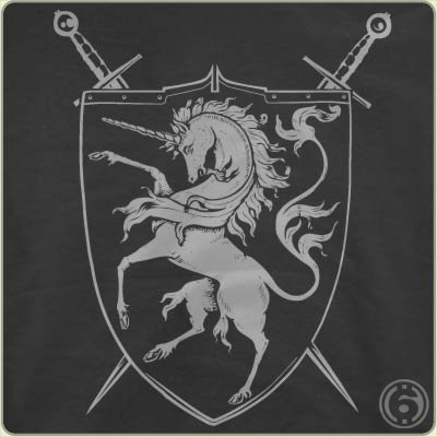 unicorn crest t shirt Unicorn Crest T Shirt