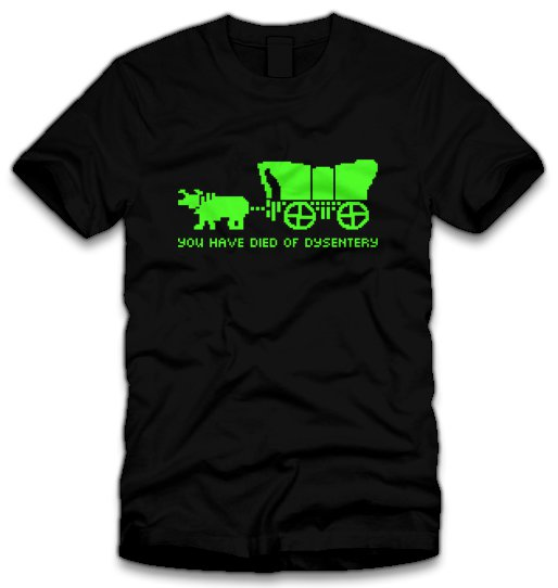 you have died of dysentry t shirt You Have Died of Dysentry T Shirt
