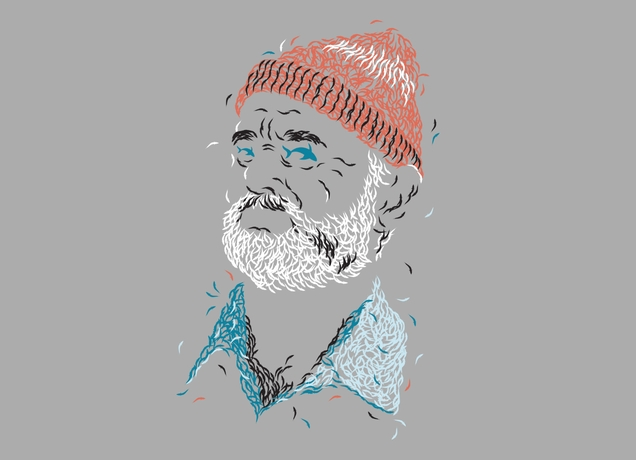 zissou of fish t shirt1 Zissou of Fish T Shirt