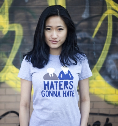 bustedtees haters gonna hate muppets old men Haters Gonna Hate Muppets Old Men T Shirt