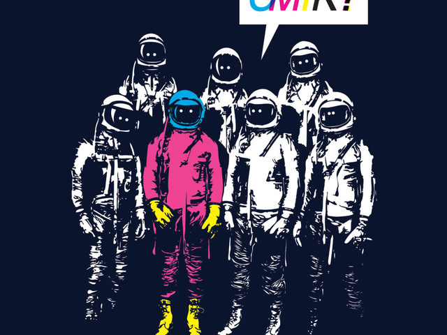 cmyk astronauts t shirt CMYK Astronauts T Shirt