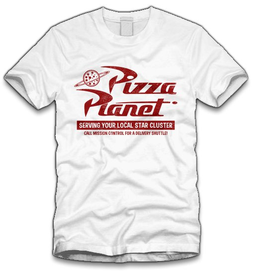 pizza planet t shirt Pizza Planet T Shirt