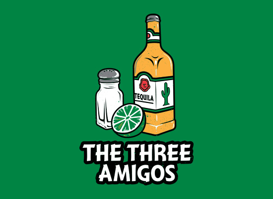 the three amigos t shirt The Three Amigos T Shirt